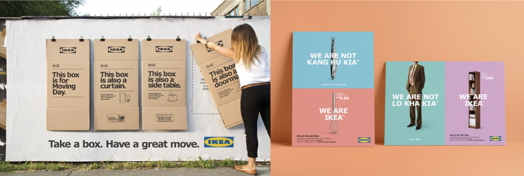 Ikea Advert Examples