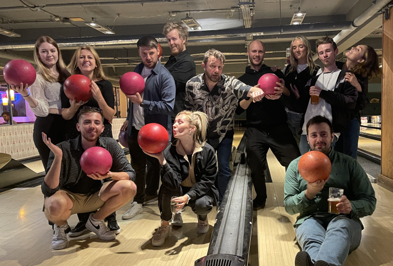 Freshly Squeezed June - SQZD Team at Bowling
